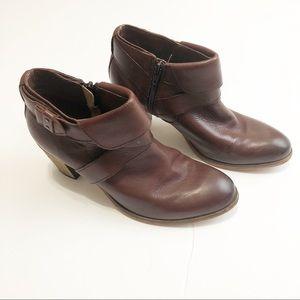 Johnston & Murphy Brown Booties Boots